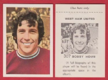West Ham United Bobby Howe